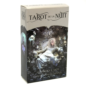 78 Cards Deck Tarot De La Nuit Full English Family Party Board Game Oracle Cards 24BD недорого