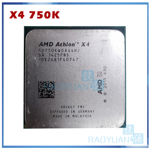 AMD Athlon X4 750 X4 750K AD750KWOA44HJ Quad-Core FM2 3.4GHz 4MB 100W CPU processor X4-750K (working 100%) Socket FM2 X4 750