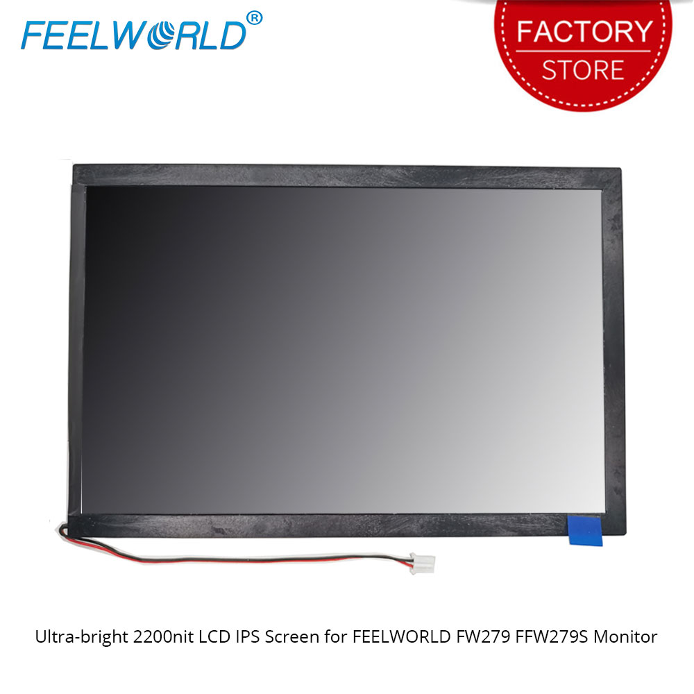 FEELWORLD Ultra-bright 2200nit LCD IPS Screen For FW279 FW279S Camera Field DSLR Monitor