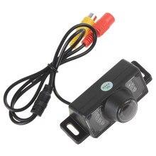 Ossuret كاميرا الرؤية الخلفية للسيارة ، شاشة وقوف السيارات ، الرؤية الليلية CCD ، الأشعة تحت الحمراء ، مقاومة للماء ، HD ، فيديو عالمي لجميع السيارات