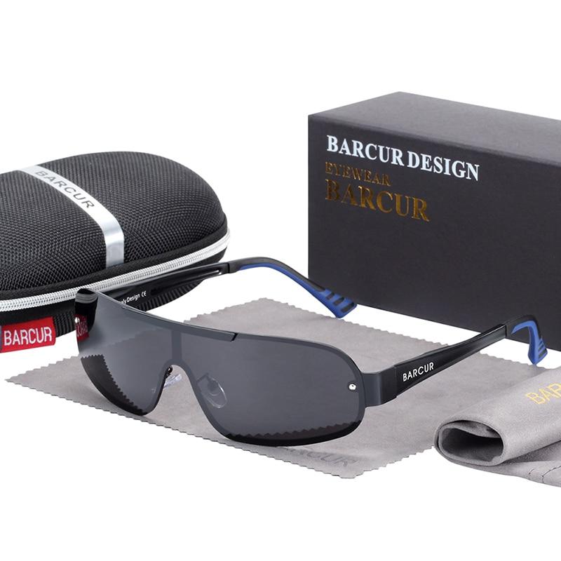 Polarized Pilot Sunglasses Blue Grey