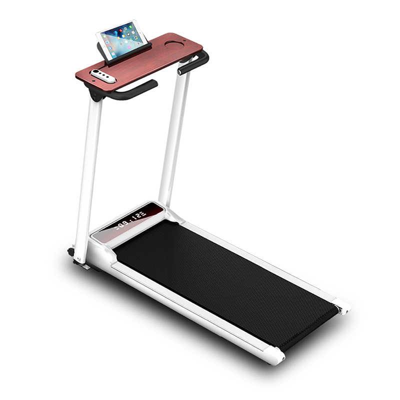 Dapat Dilipat Rumah Treadmill Mini Dalam Ruangan Kebugaran Latihan Treadmill Peralatan Multifungsi Gym Lipat Rumah Berjalan Treadmill