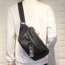 Fashion Casual Men Shoulder Bag Hip Hop Large Capacity Travel Zipper Shoulder Bag Korean Sport Bolsos Hombre Mens Bag DE50NDJ