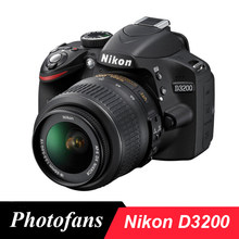 Nikon – appareil photo numérique D3200 DSLR, kit avec objectif 18-55, flambant neuf