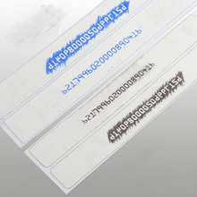 30x100mm Blank Rubbing Printing Paper Stripe  Vehicle Special Engine Rubbing Paper