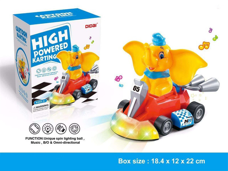 Children Electric Universal Toy Car Model Educational Children Light Music Electric Universal Plane Toy Car