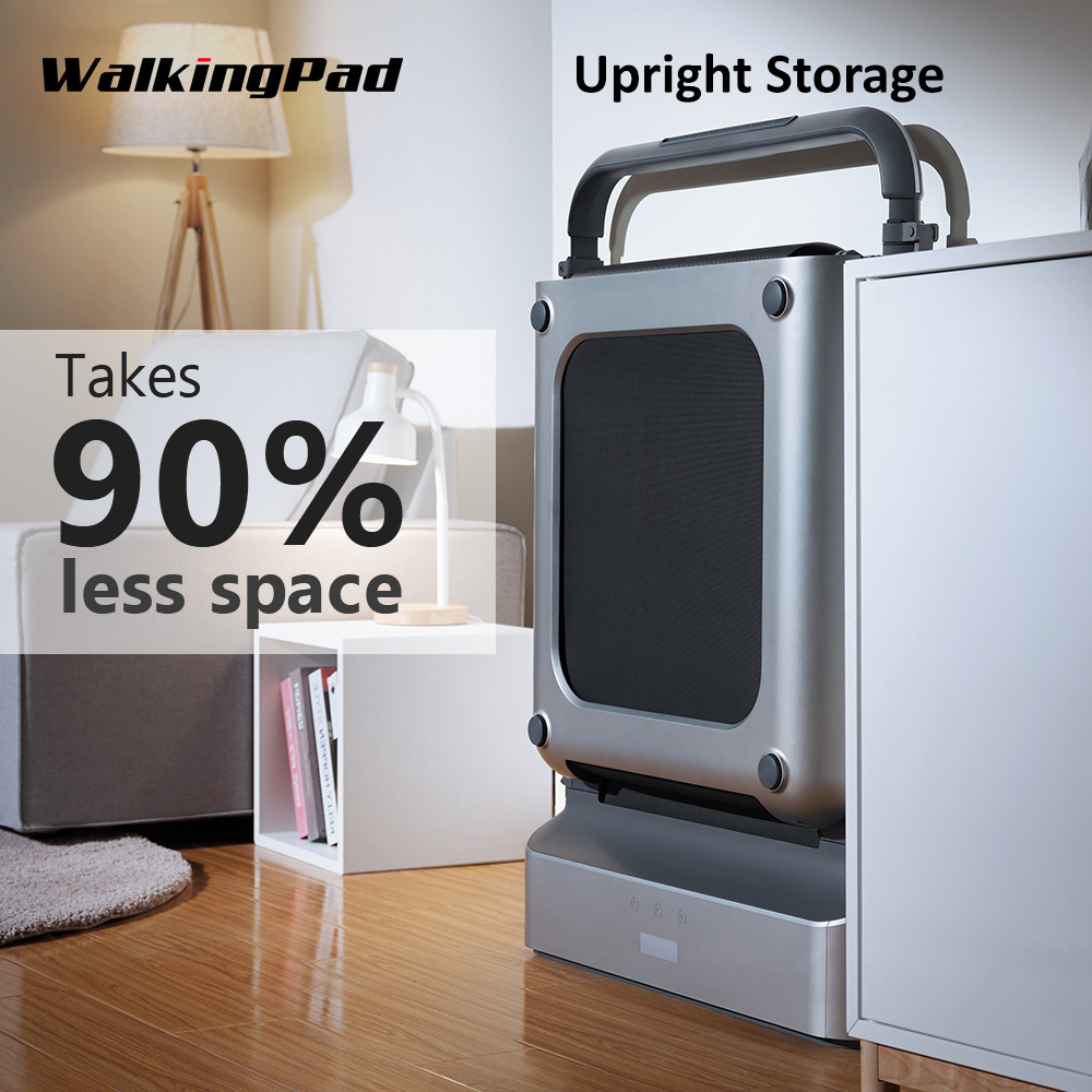WalkingPad R1 Pro Treadmill Foldable Upright Storage 10Km/H Running Walking 2in1 APP Control With Handrail Home Cardio Workout-4
