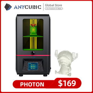 Image 1 - ANYCUBIC Photon 3d Printer 5.5 Inch 2K LCD Screen Off Line Print Fast Slice Resin 3d Printers Impresora 3d Impressora UV Printer