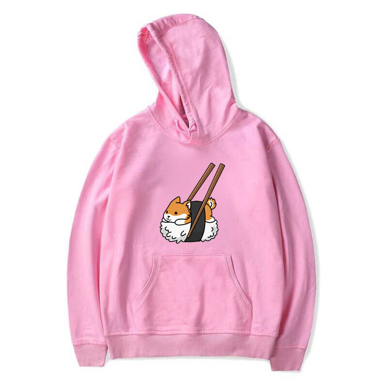 Women Hoodies Cartoon Dog Shiba Inu hoody Sweatshirt Funny Graphic Hoodie Sudadera Mujer Moletom Feminino Kawaii Pullover hodies