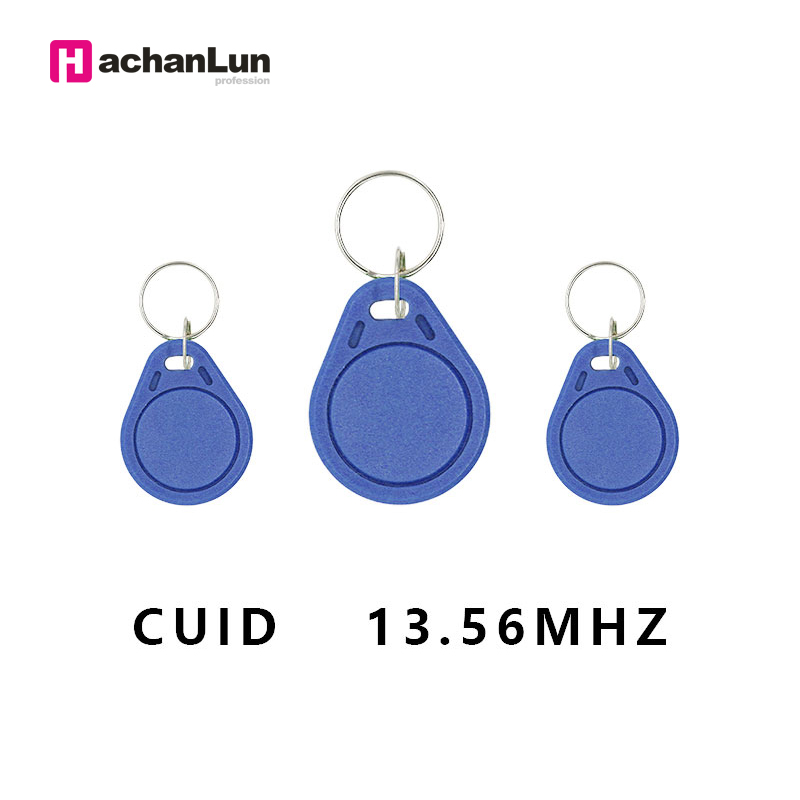 5PCS / Set RFID Access Control Keychain 13.56MHZ IC CUID NFC Smart Chip Card Tag Android App MCT 0 Block Writable