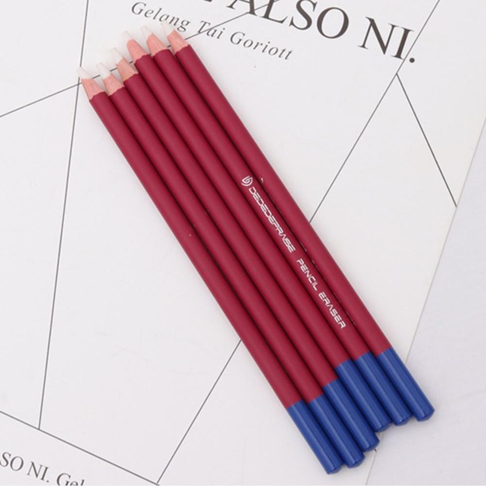 3pcs/lot Pen Style Revise Details Eraser Highlight Modeling Pencil Rubber For Design Drawing Manga Art Supplies