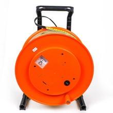Sensor nivelado do medidor 100m da profundidade da água do poço do cabo da régua do revestimento da ponta de prova de 15mm