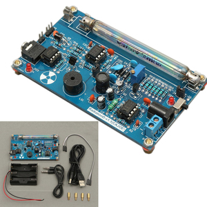 Image 5 - Free shipping DIY Geiger Counter Module Assembled DIY Geiger Counter Kit Miller Tube GM Tube Nuclear Radiation Detector Radiatio