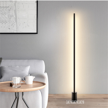 81122 Pedal Type Bedroom Bedside Vertical Standard Lamp Living Room Sofa Tea Table Led Remote Control Floor Lamp 110-220V 16W