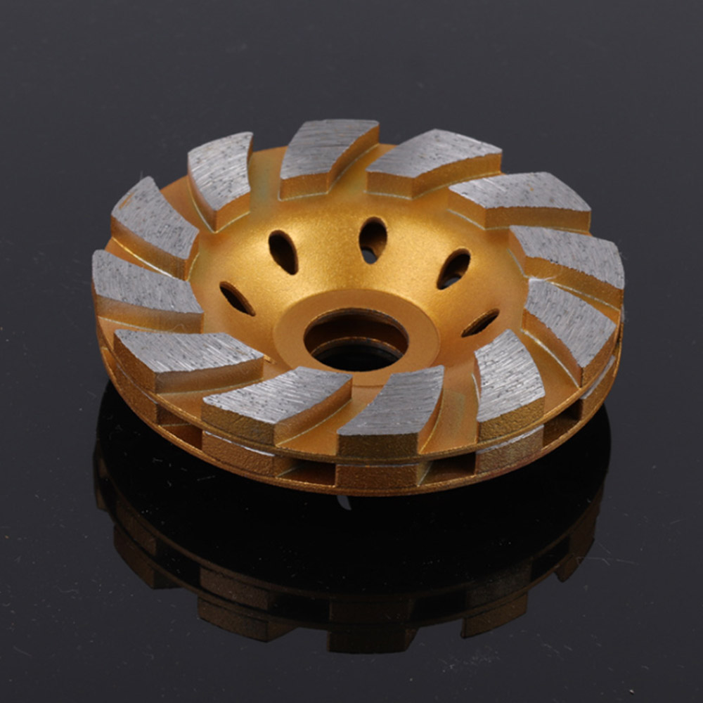 100mm Diamond Grinding Wheel Metal Alloy  Disc Bowl Shape Grinding Cup Concrete Granite Stone Ceramics Tools
