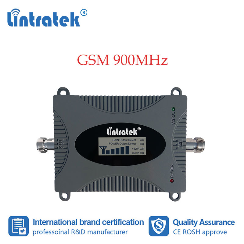 Lintratek GSM 900MHz Repeater GSM Cell Phone Signal Booster 900 Signal Cellular Amplifier With Display Mobile Phone Selector #7