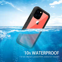 waterproof case 360 Full Protect For iphone 11 case Shockproof Doom Heavy Duty Armor For iphone 11 pro max case Cover Coque