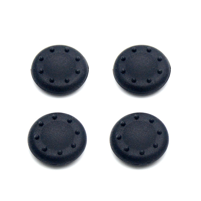 2Pcs Silicone Controller Joystick Thumb Stick Grip Cap Case Cover for PlayStation 4 PS4 PS3 PS2 PS 4 PS 3 PS 2 Xbox 360 One Game 3