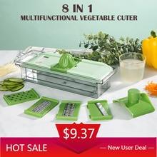 Multi-Function Planer Vegetable Household Kitchen Tool Shredded Potatoes Shredded Carrots Shredded Cucumber Manual  Processor