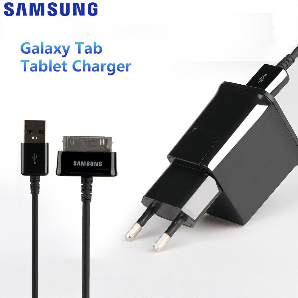 Оригинальное Адаптивное зарядное устройство для Samsung Galaxy N5100 N5110 Galaxy Note 8,0 Tab 2 P5100 P1010 P7300 P1000 P3100 N8000 Зарядные устройства      АлиЭкспресс