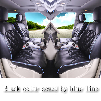 For Toyota Vellfire Car seat cover Complete set 6 Seats Right  Rudder Driving E Four Car seat cover 2012 Ath20