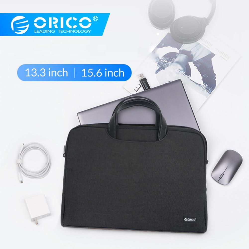 ORICO Laptop Bag Pouch Sleeve Carry Storage Notebook Cover Briefcase Case For Macbook Air Pro 13.3 15.6 Portable Storage Handbag