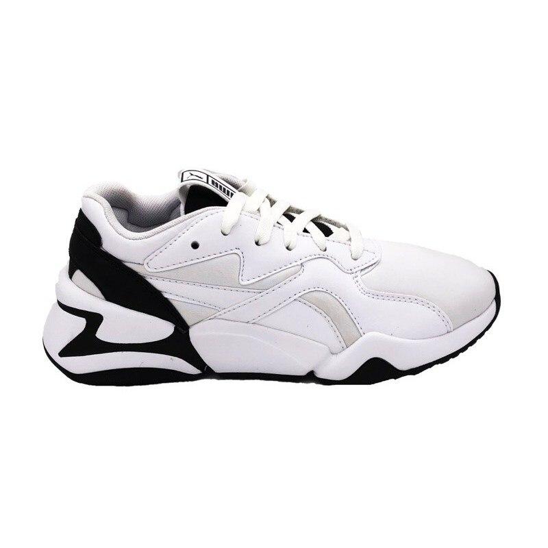 US $97.92 |PUMA NOVA WNS SNEAKERS white black 370815 01 (37 White)|Sneaker  Accessories| - AliExpress