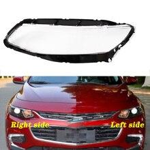 Für Chevrolet Malibu XL 16 18 Front scheinwerfer abdeckung transparent lampenschirm scheinwerfer shell maske schutzhülle glas