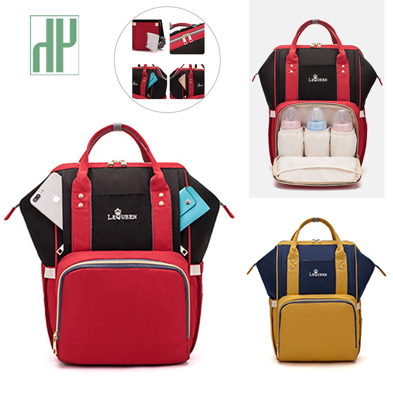 New Diaper Bag Fashion Multi-function Nappy Bag Large Capacity Backpack For Mom Baby Travel Stroller Bag