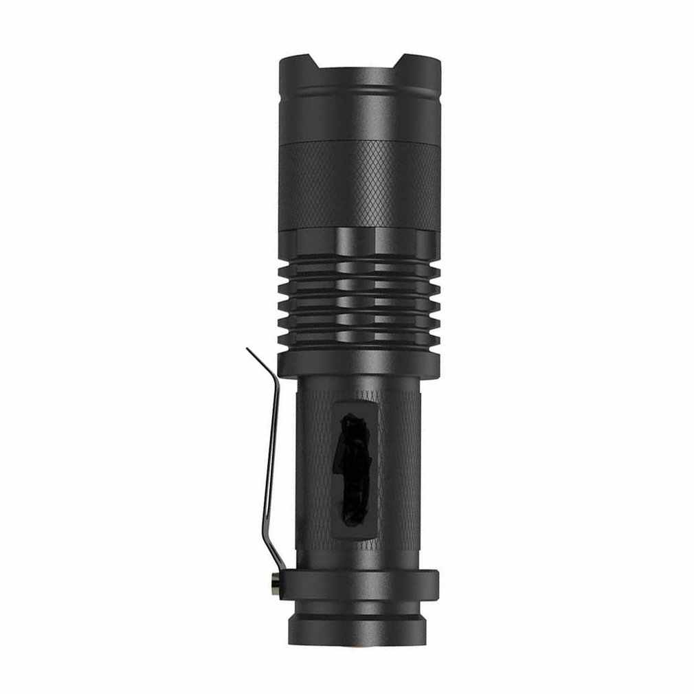 Exquisite Aluminum Alloy Metal Adjusted to Facilitate Mini Light Flashlight Sk68 Dual Power Telescopic Zoom