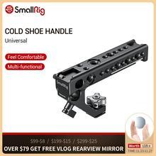 SmallRig zimny Adapter do butów uchwyt do montażu lustrzanki cyfrowe i klatki ze śruby skrzydełkowe + 15 mm zacisk pręta uniwersalny uchwyt 2094