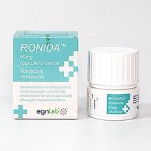 Ронида ронидазол 60 мг/150 мг для кошек 28 капсул
