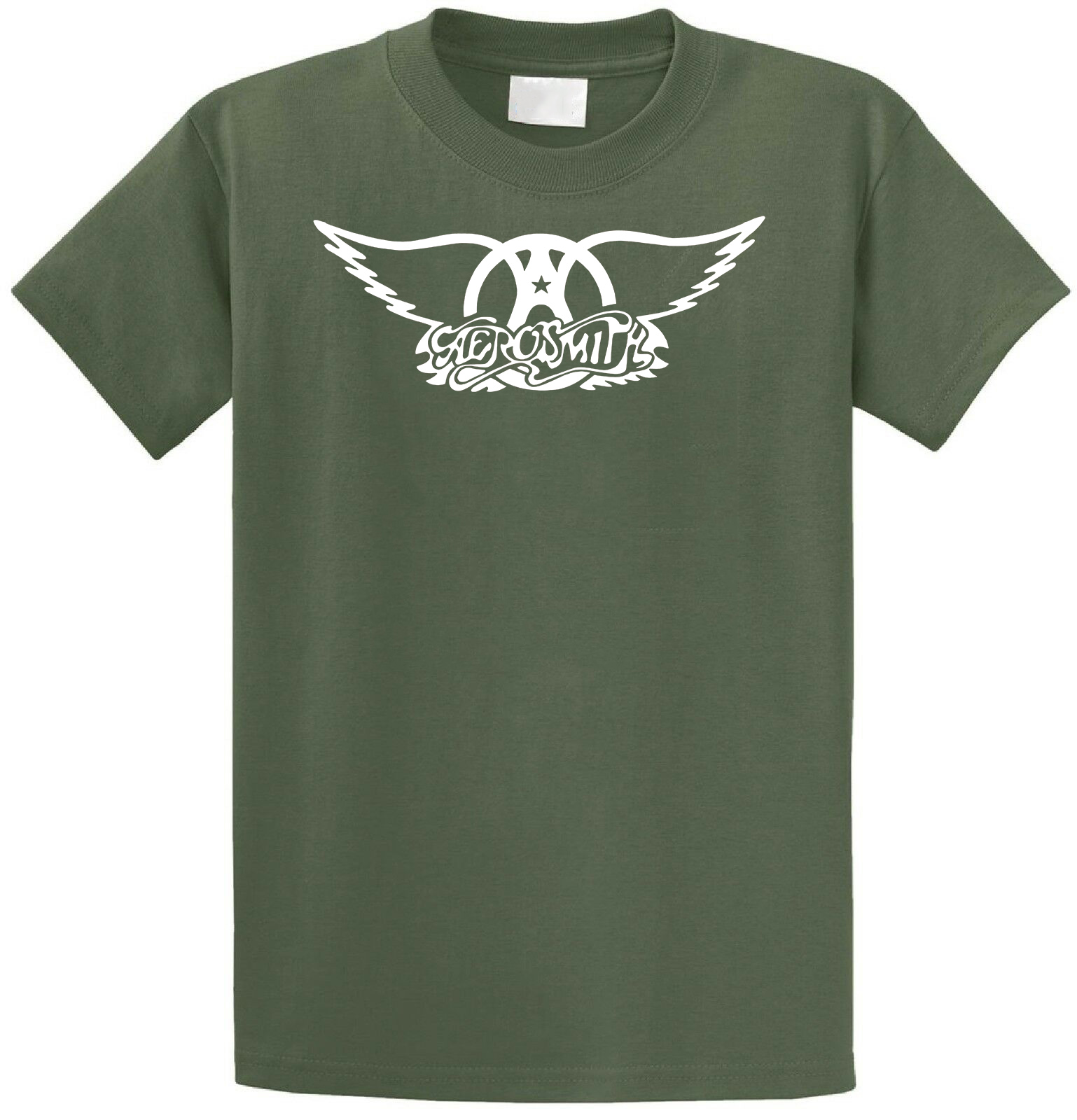 Low Price Tees Short Sleeve Top O Neck Aerosmith Logo T Shirt For Men in T Shirts from Men 39 s Clothing