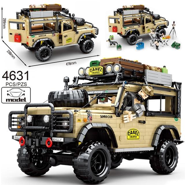 2021 New SUV Off-road Vehicle Model 4631PCS High-tech MOC Creator Car DIY Building Blocks Bricks Toys For Children Birthday Gift 1