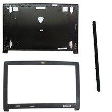 Mới Ốp Lưng MSI GE62 2QD 007XCN MS 16J1 16J1 16J2 16J3 Top LCD Màu Đen Không Cảm Ứng/ màn Hình LCD Ốp Viền Bao Da/Bản Lề Bao