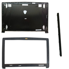 New case cover For MSI GE62 2QD 007XCN MS 16J1 16J1 16J2 16J3 Top Lcd Back Cover black Non Touch/ LCD Bezel Cover/hinge cover