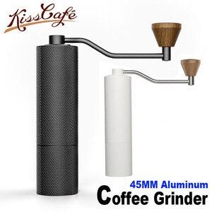 Image 3 - Timemore di Castagno SOTTILE di Alta qualità Manuale macinino Da Caffè 45 MILLIMETRI di Alluminio Caffè miller 20g Mini Macchine Da Caffè di fresatura macchina
