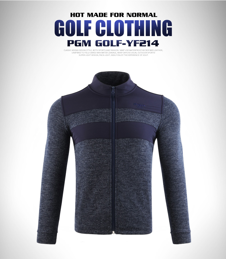 2020 novo outono inverno masculino golfe roupas