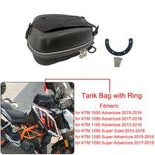 Motocicleta conjunto completo sacos do tanque de combustível anel montagem diretamente enchimento combustível embalagem para ktm 1050 1090 1190 adv 1290 super aventura