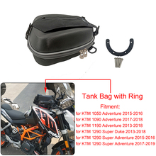 Motosiklet tam seti yakıt tankı çanta tankı halka montaj doğrudan yakıt dolgu muhafaza KTM 1050 1090 1190 ADV 1290 süper macera