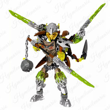 Hero Factory BIONICLE Pohatu - Uniter of Stone Terak Creature Robot Soldiers Figures Building Blocks Kids Toy Christmas Gifts