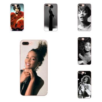 For Huawei Mate 9 10 20 P P8 P9 P10 P20 P30 P40 Lite Pro Smart 2017 Soft TPU Art Print Sexy Singer Whitney Houston image