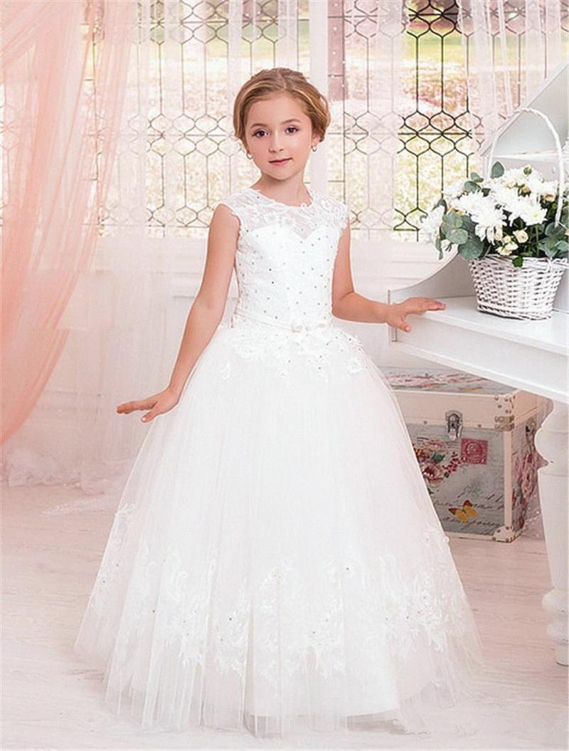 Flower Girls Kids Communion Party Prom Princess Pageant Bridesmaid Wedding Dress