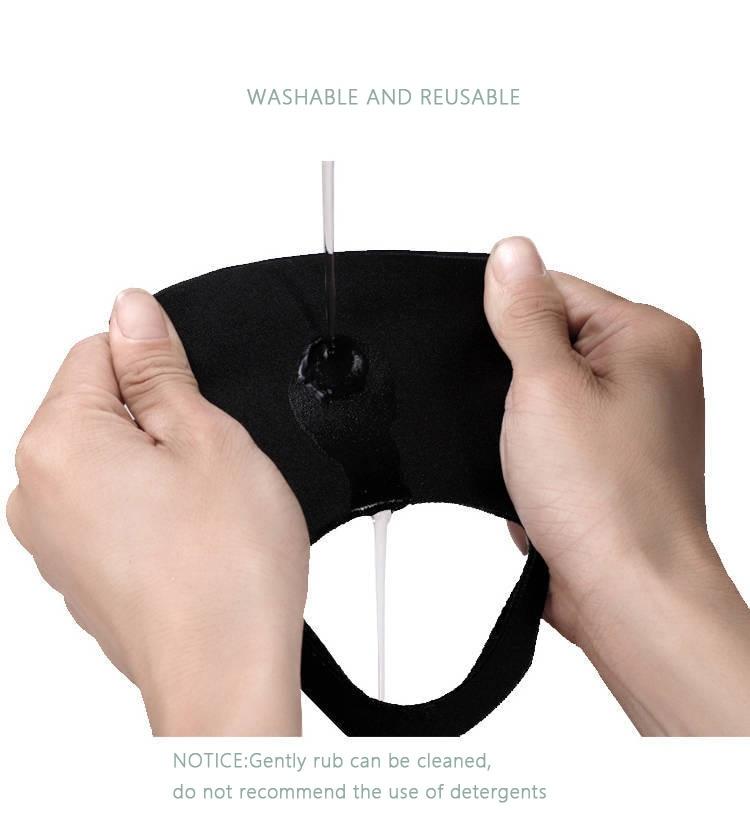 Image 4 - 3D MASK Pm2.5 Face Mouth Mask Facemask Mouthmask For Dust Anti  Virus Anti pollution Antivirus kpop Masks WholesaleWomens Masks   -