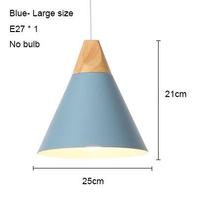 Blue 250mm no bulb