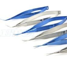Титановый сплав хирургический стоматологический ролики держатели игл офтальмологическое инструментальное устройство разблокировка иглы держатель хирургические инструменты