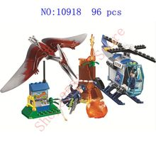 Jurassic World 2 Brutal Raptor Building Blocks Dinosaur Figure Brick Compatible with legoinglys Children's Toys Educational Gift my world compatible educational legoinglys minecrafter move building blocks for toddlers clever construction toys 4 pcs lot