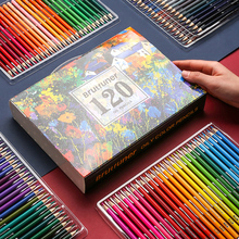 Brutfuner 120/160/180 Colors  High Quality Oily Colored Pencils Set Oil HB Drawing Sketch For School Student Gifts Art Supplies