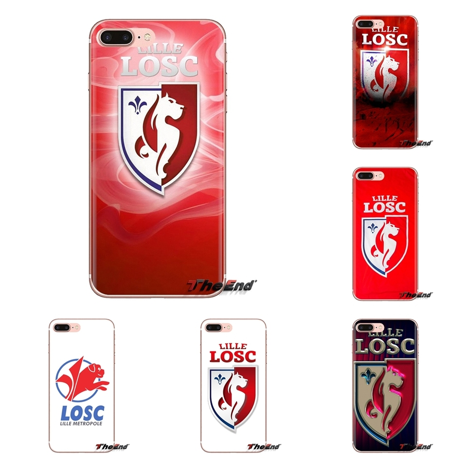Tpu Case Losc Lille Logo French Football League For Xiaomi Mi3 Samsung A10 A30 A40 A50 A60 A70 Galaxy S2 Note 2 Grand Core Prime Fitted Cases Aliexpress