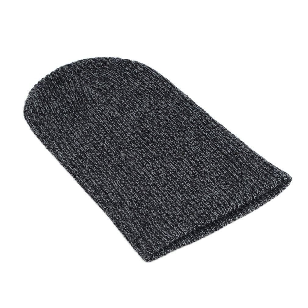 Knit Men's Women's Baggy Beanie Oversize Winter Hat Ski Slouchy Chic Cap